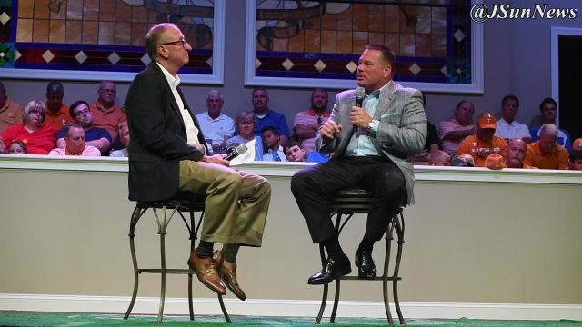 UT Vols head coach Butch Jones talks about his faith and football