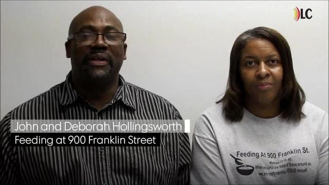 Feeding at 900 Franklin Street Blesses Patrons and Providers