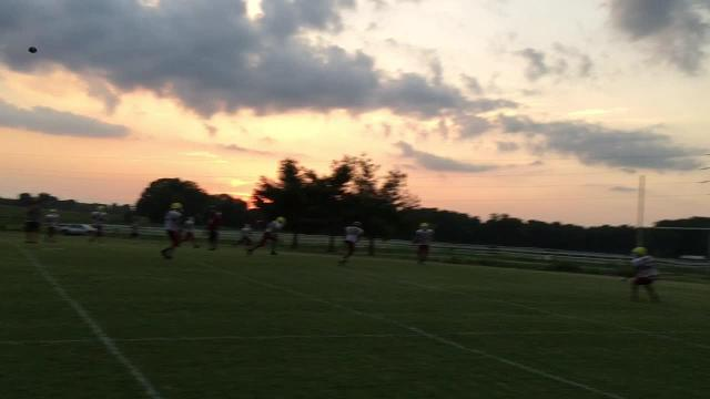 WATCH: Crockett County practices in pads