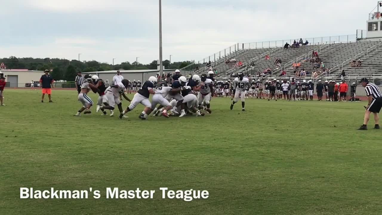 Watch: Highlights from Blackman's scrimmage with Overton