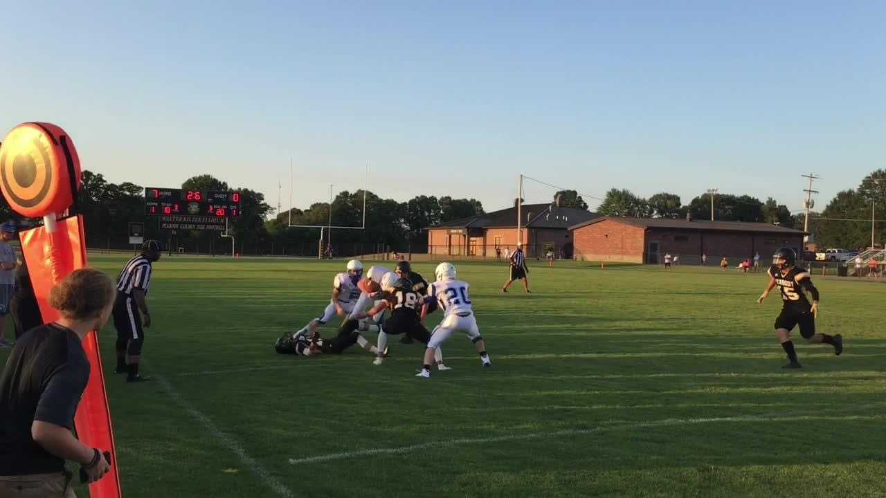 Trenton Peabody beat Chester County 13-0 in a scrimmage on Friday at Peabody.