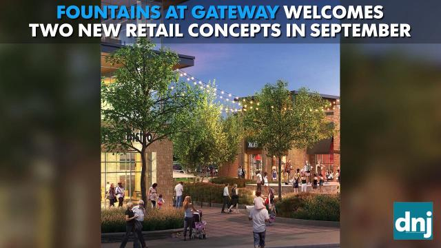 New concepts coming to Fountains at Gateway in September 2017