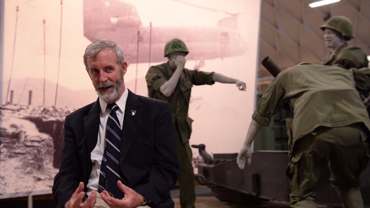 Army Historian John O'Brien talks about 101st's influence on culture