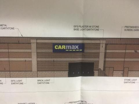 CarMax may open in Murfreesboro