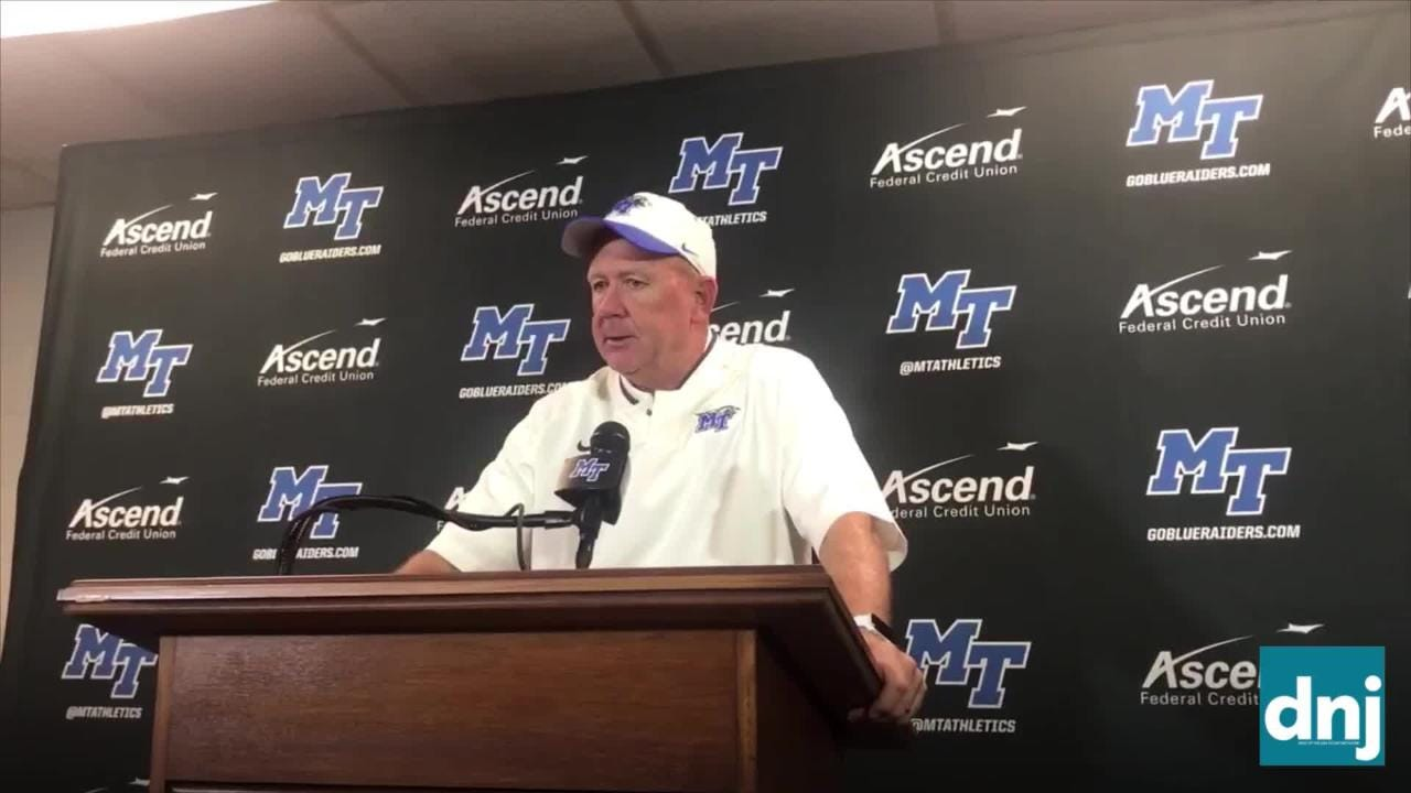 Stockstill on o-line: 'If we don't get better, it's going to be a long year'