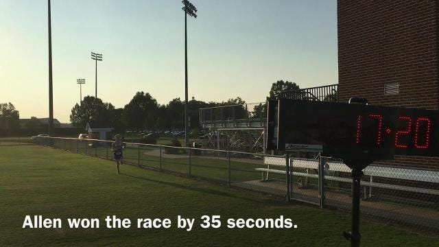 WATCH: Action from the West Tennessee Fall Classic race