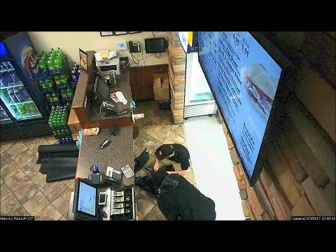 Fake robbery at Marco's Pizza