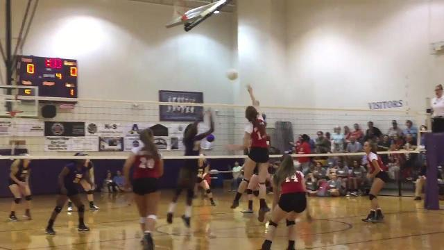 Volleyball highlights: Clarksville knocks off Rossview