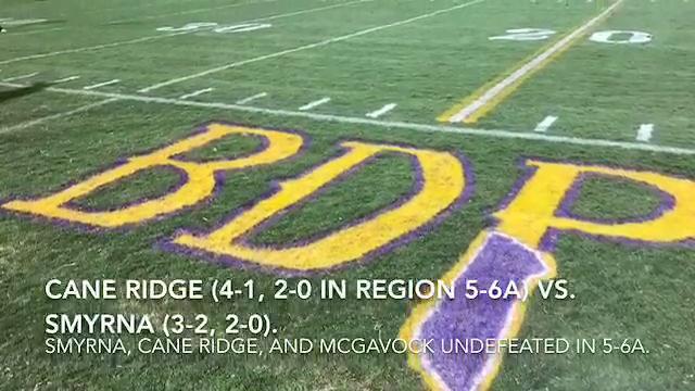 Friday night highlights: Cane Ridge 35, Smyrna 0