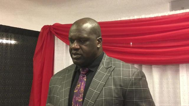 WATCH: Shaquille O'Neal speaks at Oman Arena