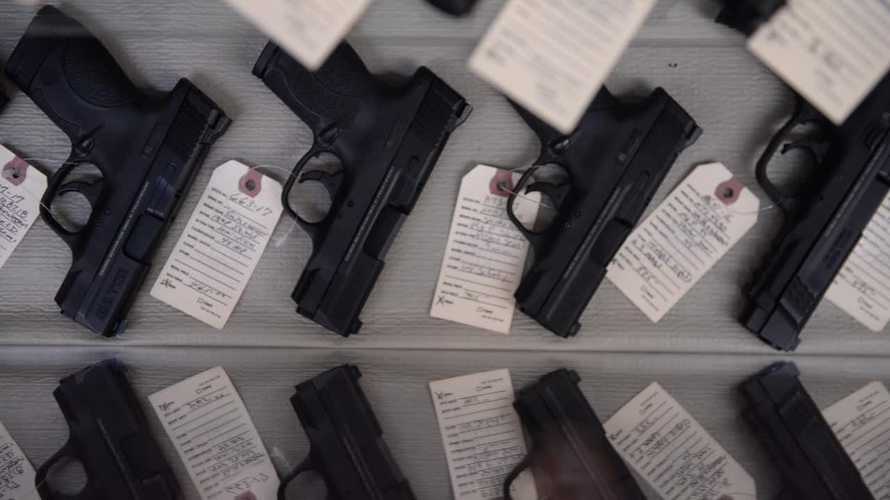 At Allen's Gun Shop, store manager Randy Maney preaches responsible ownership of all firearms, adding he was horrified beyond belief by this week's mass shooting at the country music concert in Las Vegas.