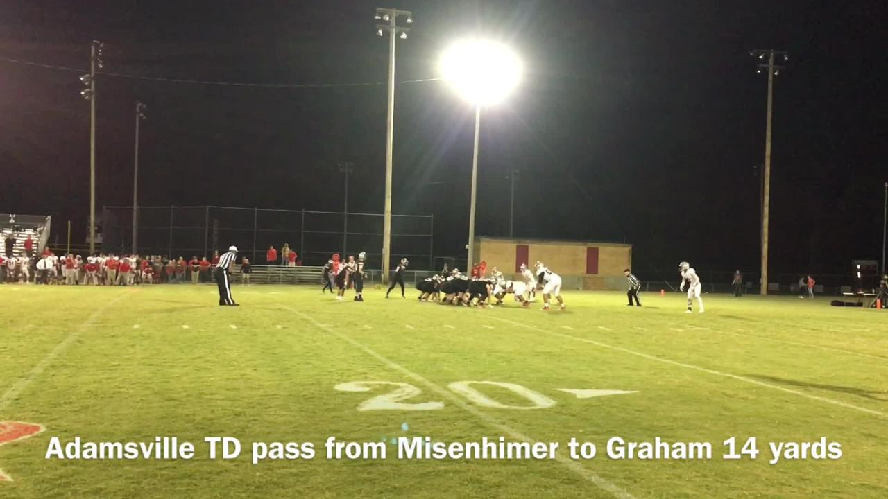 Friday night highlights: Adamsville 42, McKenzie 6