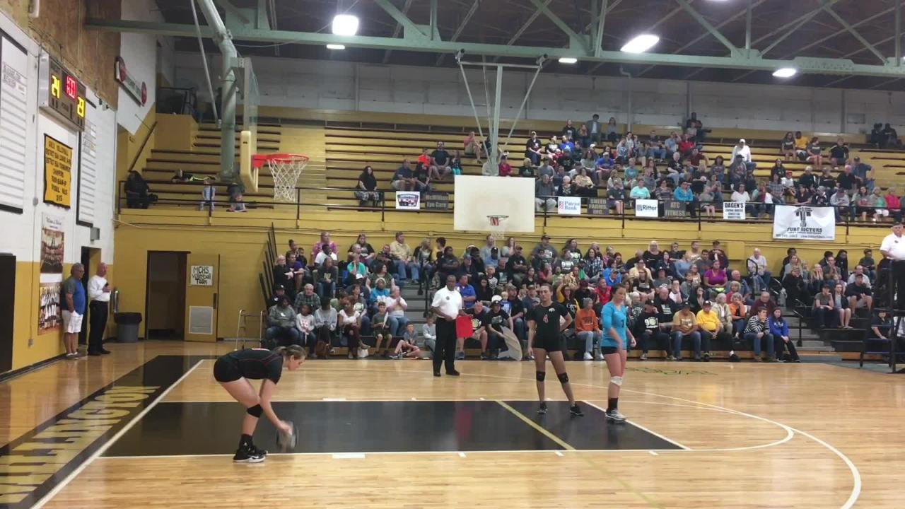 South Side volleyball beat Millington 3-0 in a Class AA sectional on Thursday.