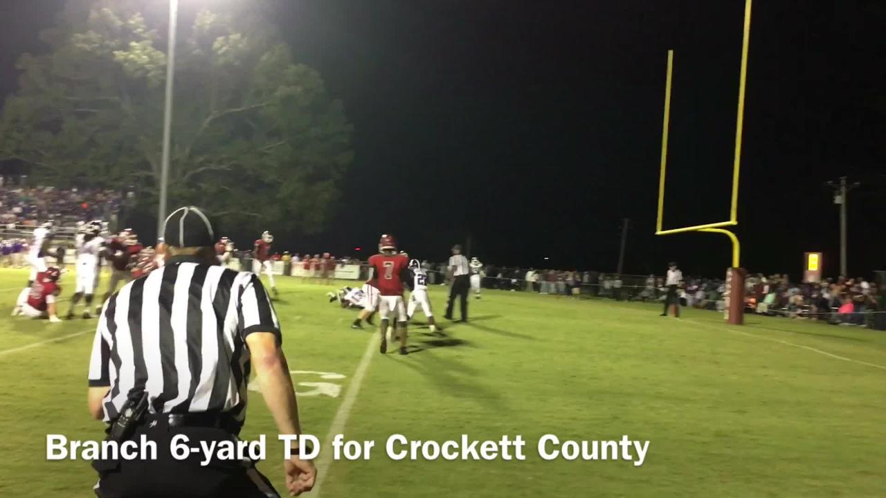 Haywood football beats Crockett County 53-35 in a Region7-4A showdown.