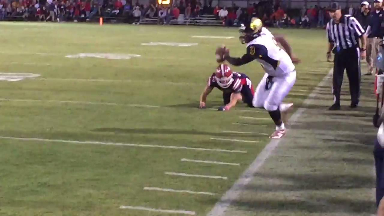 Friday night highlights: Henry County 27, Northeast 13
