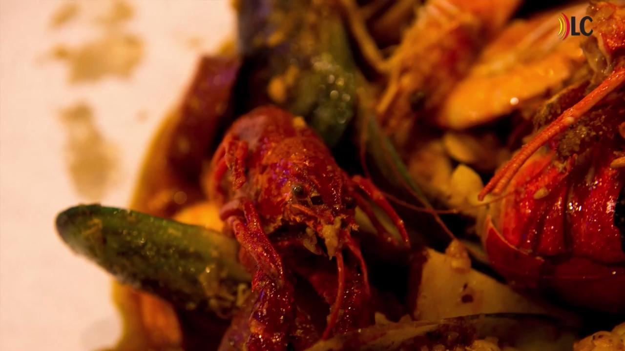 Open for business on Wilma Rudolph, Storming Crab offers a variety cajun-inspired seafood combos.