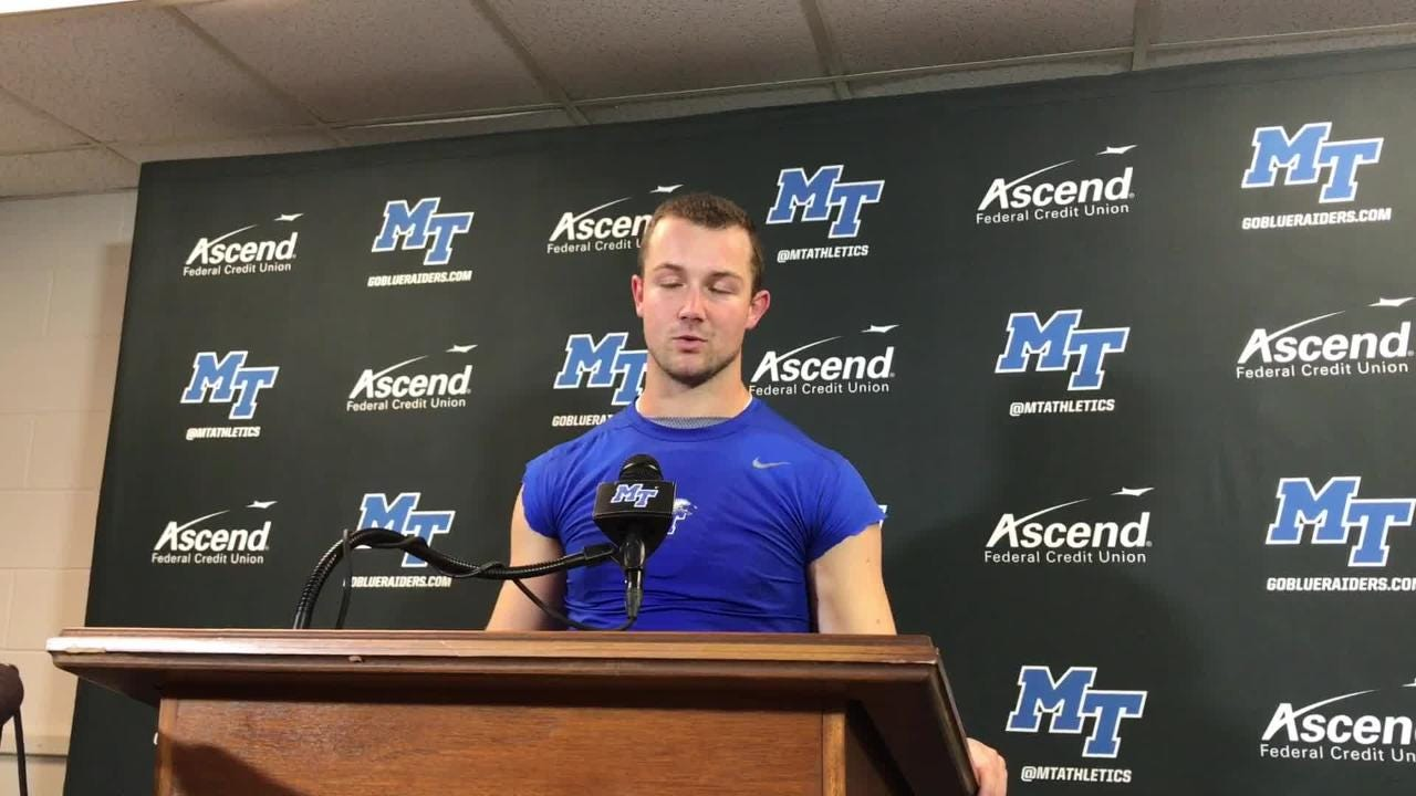 Brent Stockstill on his performance vs. UTEP