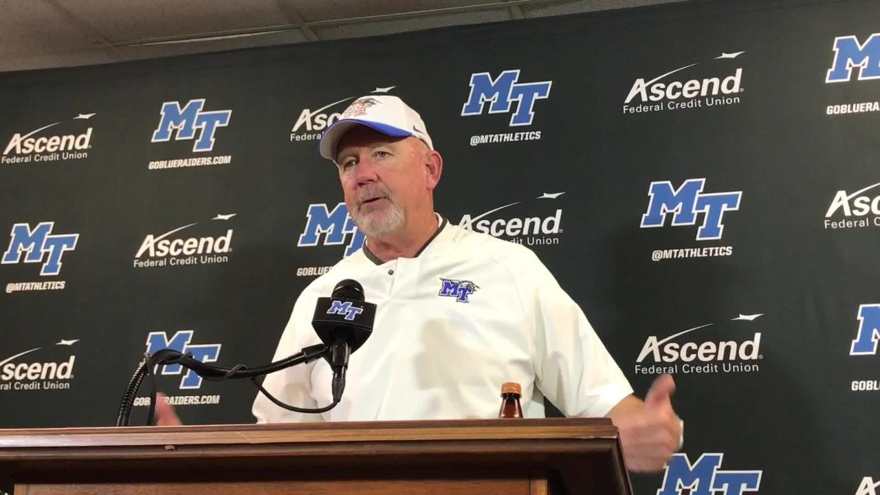 Rick Stockstill on MTSU's win vs. UTEP