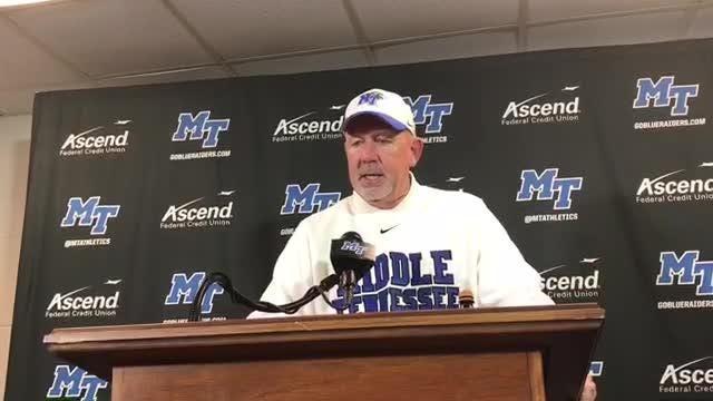 Rick Stockstill on MTSU's bowl chances after win vs. ODU