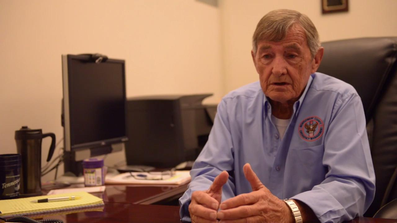 Jerry Buchanan, who will be retiring as Montgomery County Emergency Management Agency Director at the end of the year, talks about what drives him in his career.