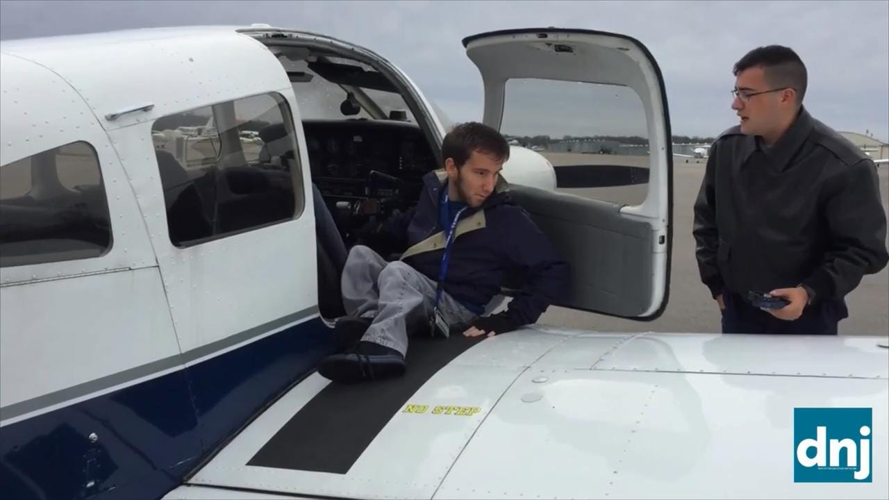 MTSU student seeks funds to purchase hand controls to help him soar