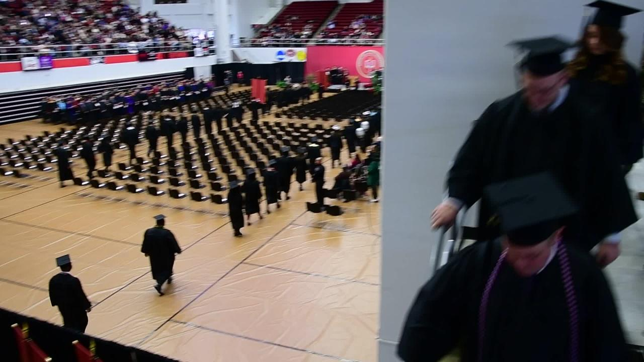 Austin Peay State University held its Winter Commencement on Friday in the Dunn Center.