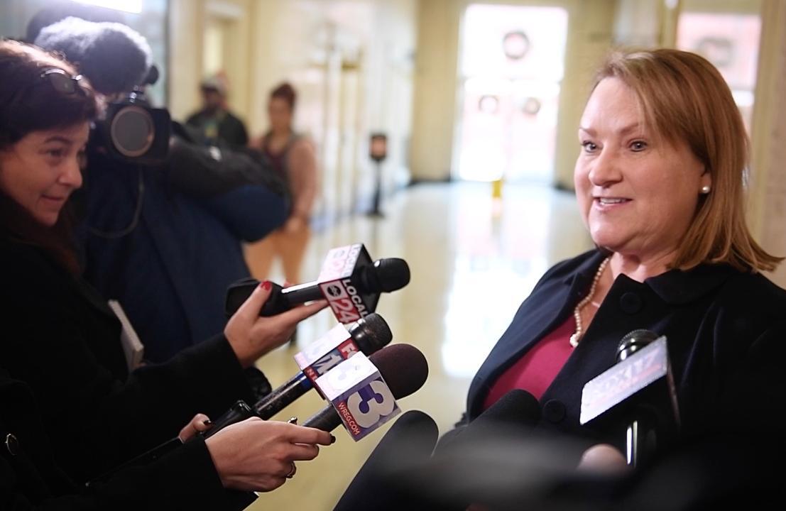 Holly Bobo prosecutor Jennifer Nichols speaks after status hearing