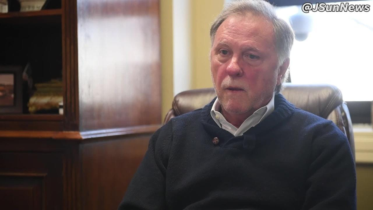 Madison County Mayor Jimmy Harris on raising property taxes in the county earlier this year.