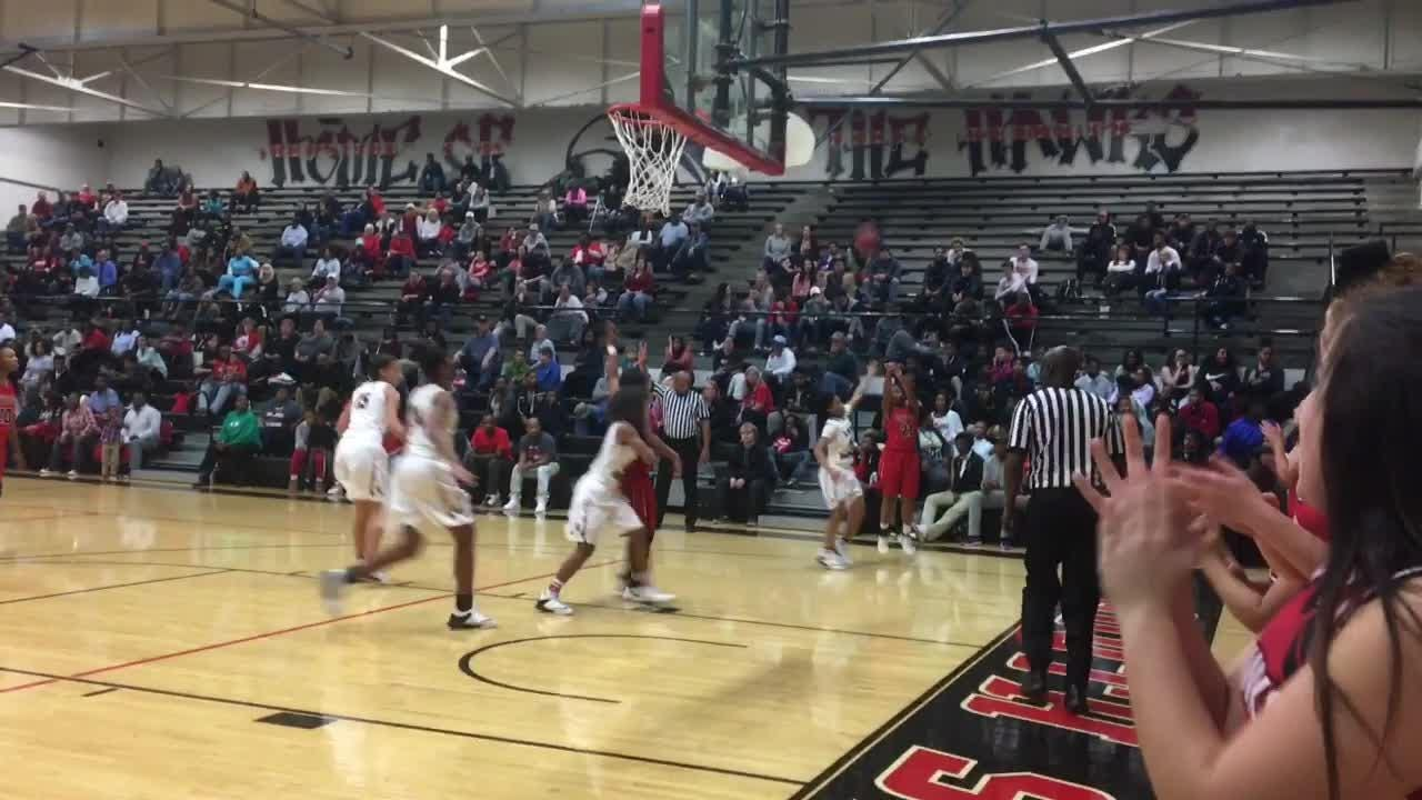 Highlights from South Side girls basketball's 72-70 win over Lexington on Dec. 19, 2017.