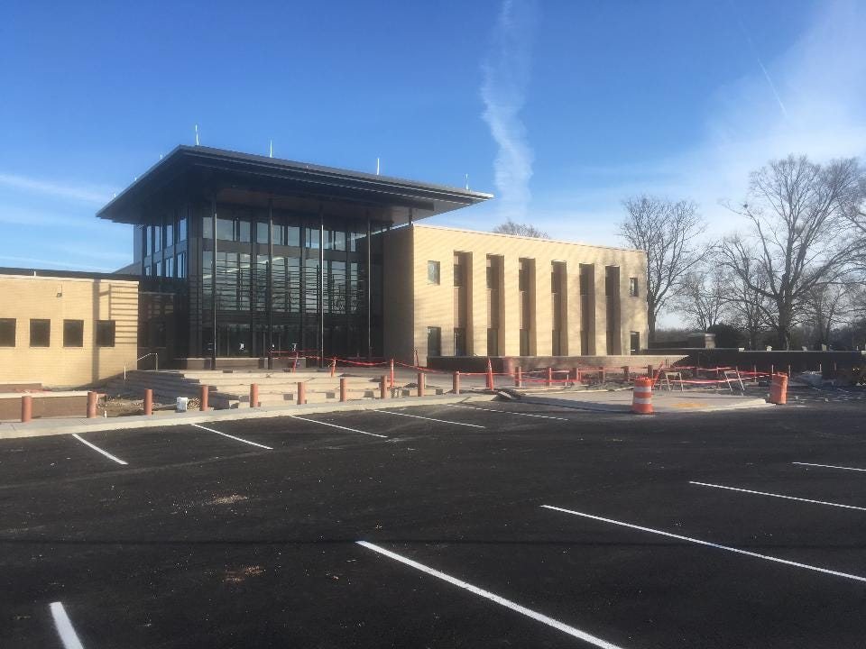 Murfreesboro Police will move into $55.7 million headquarters on North Highland Avenue January through March. The project is delayed by a month while crews repair water damage from sprinklers.