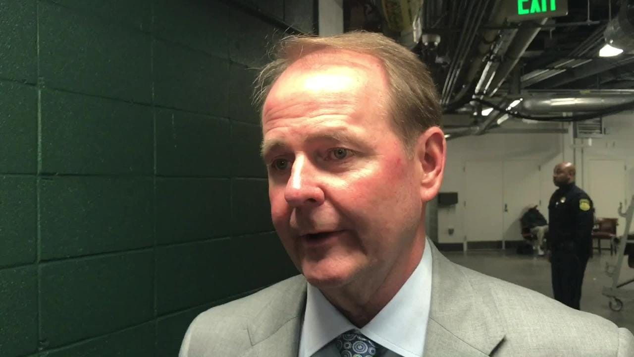 MTSU improved to 5-0 in true road games with its 63-60 win at UAB. Blue Raiders coach Kermit Davis shares his thoughts.