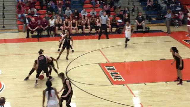 Highlights of Riverdale girls' 70-52 win over Blackman Tuesday evening.