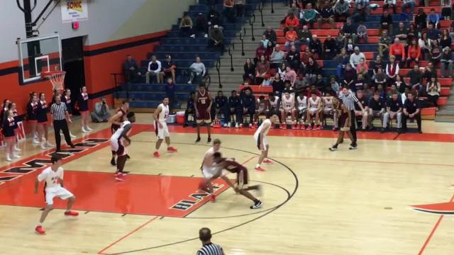 Highlights of Blackman boys' 58-49 win over Riverdale Tuesday evening.