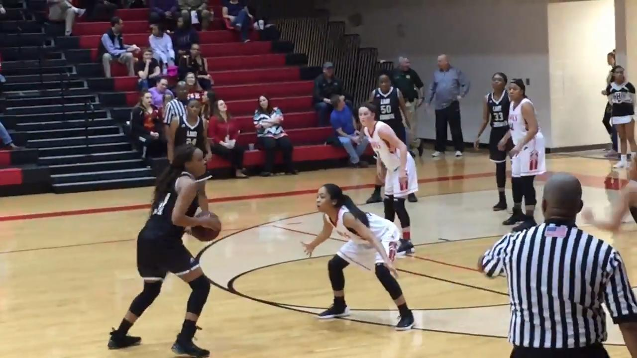 Rossview dominated from start to finish as the Lady Hawks stayed atop the District 10 standings with a 16-point victory against Kenwood Thursday night.