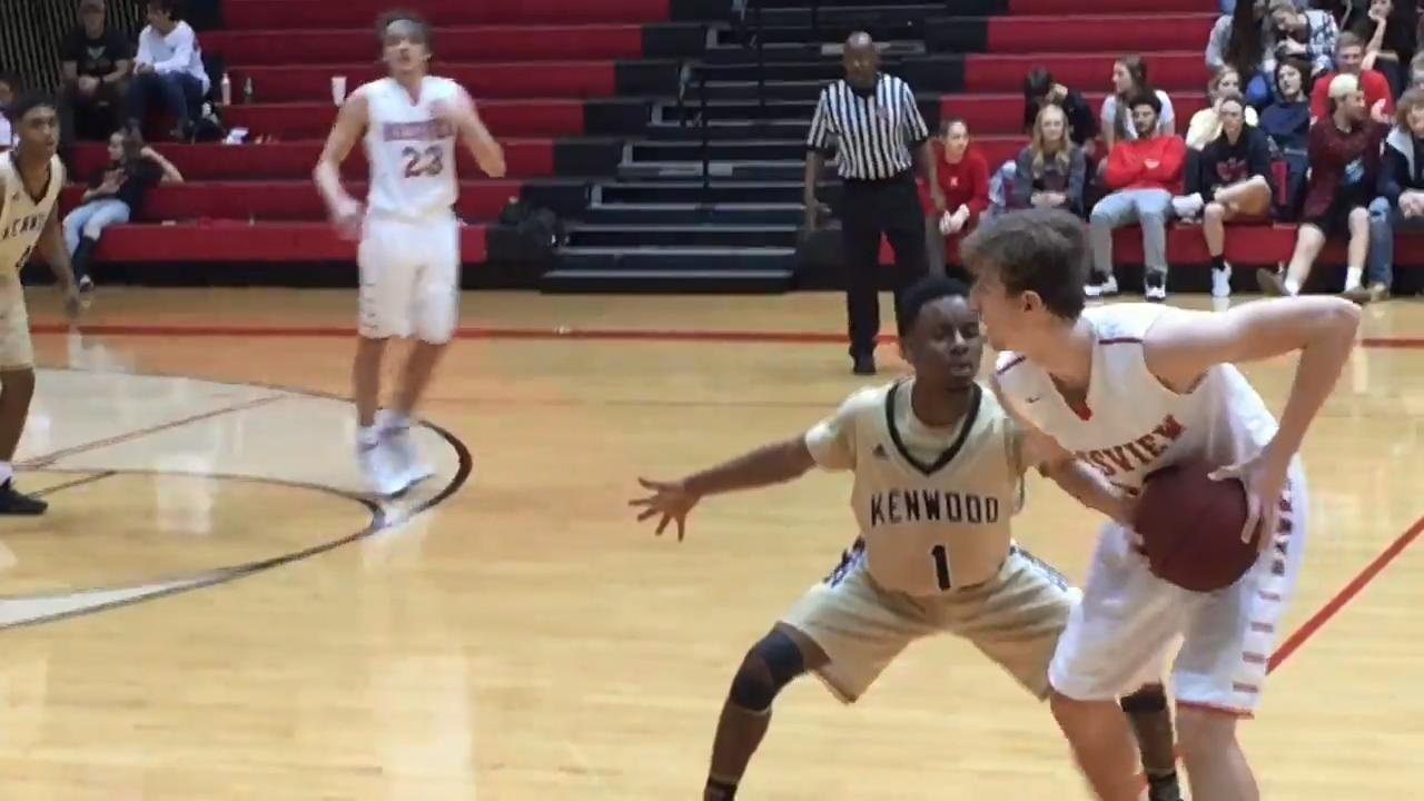 Rossview built a huge early lead but had to stave off a Kenwood rally late to knock off the Knights by 10 points Thursday night.