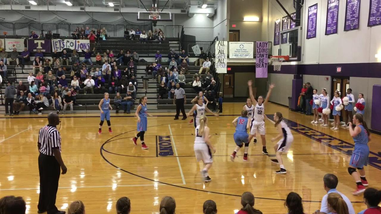 Gibson County girls improved to 5-0 in District 14-A play with a 45-41 win over TCA on the road on Jan. 11.