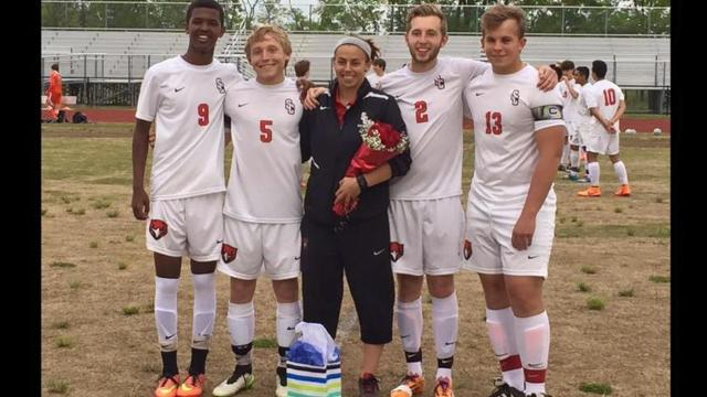 Stewarts Creek boys soccer coach Brooke Mayo was recently named a FIFA assistant referee.