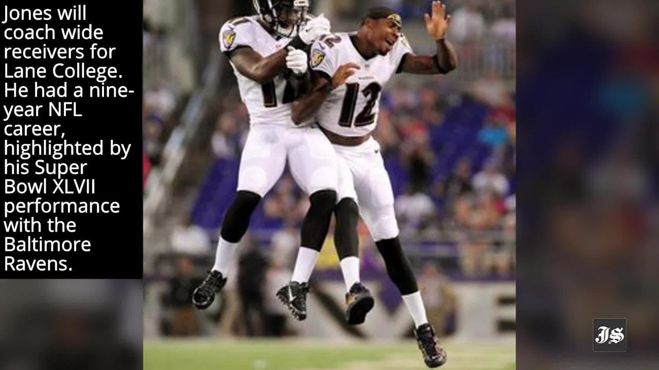 Former NFL wide receiver and Lane College alum Jacoby Jones has been hired as the wide receivers coach for the Dragons.