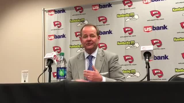 Three teams are tied atop C-USA with 6-1 records: MTSU, WKU and Old Dominion. MTSU coach Kermit Davis shares his thoughts on the competitiveness of this year's C-USA race.