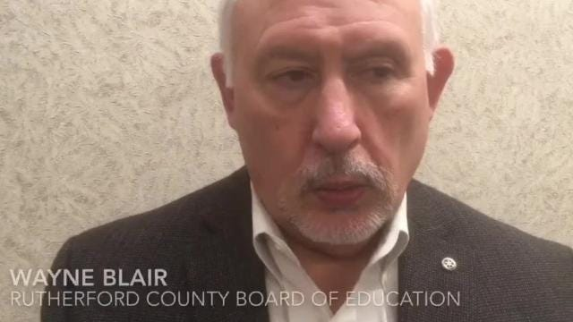 Rutherford County Board of Education member Wayne Blair talks about the search to find a successor to replace retiring Schools Director Don Odom.