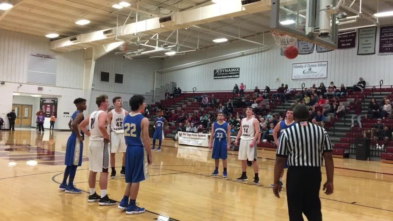 Highlights from Huntingdon's 59-54 win over West Carroll on Jan. 22, 2018.