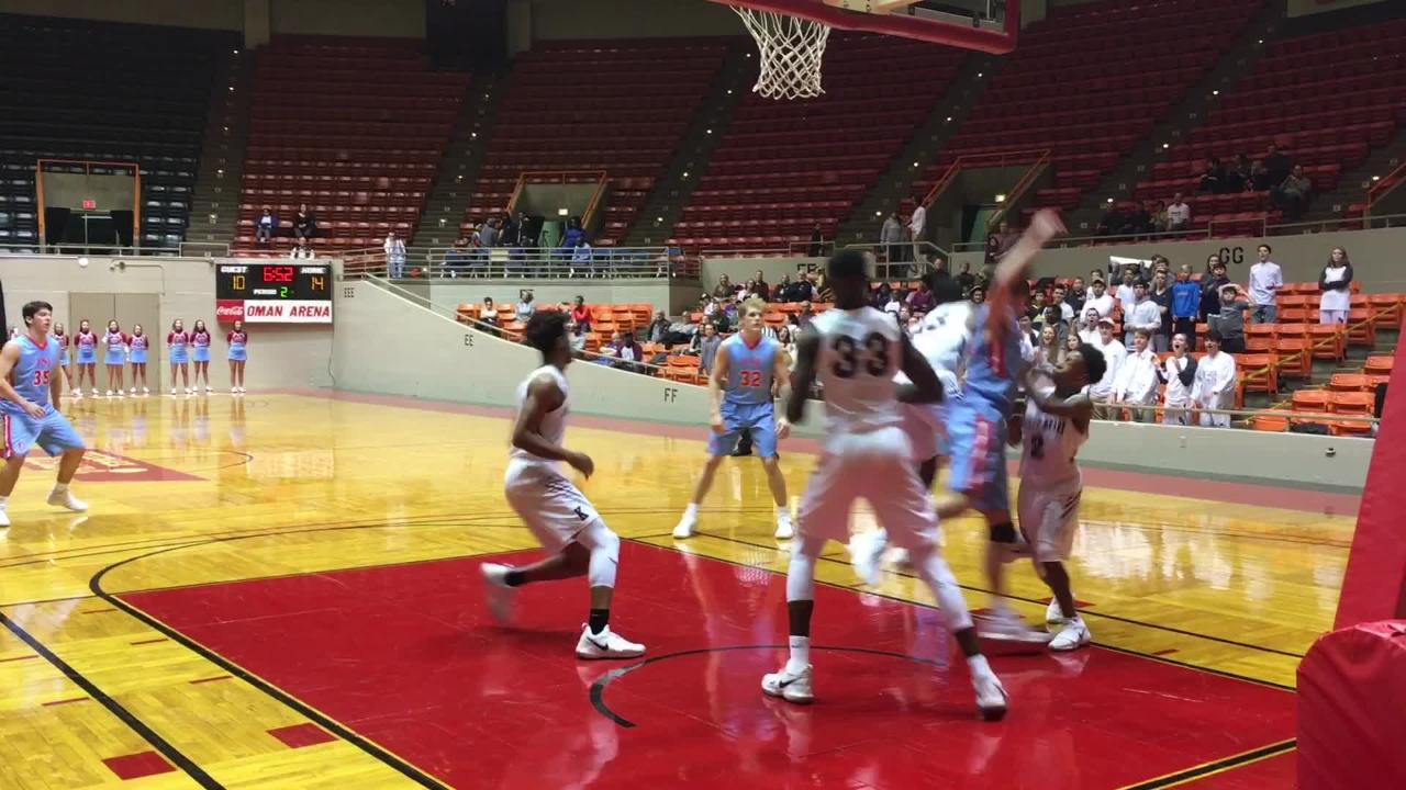 Sacred Heart boys pulled off the 63-59 victory over USJ at Oman Arena on Tuesday, Jan. 23.