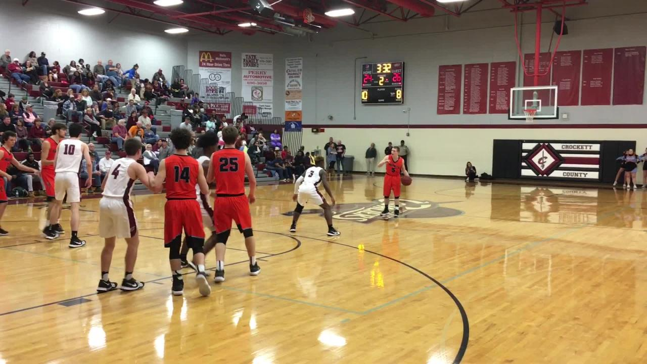 Crockett County boys picked up a District 13-AA victory over South Gibson on Thursday, Jan. 25.