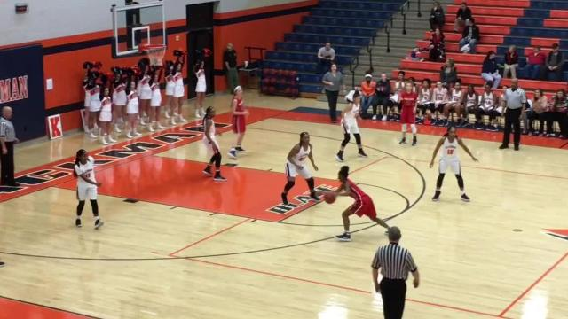 High school basketball highlights: Oakland girls 48, Blackman 41
