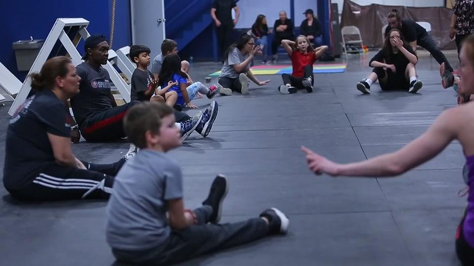 Storm Sims has been training in gyms since he was 16. Now he's finally opened his dream, a facility wholly dedicated to parkour, obstacle course training, and American Ninja Warrior.