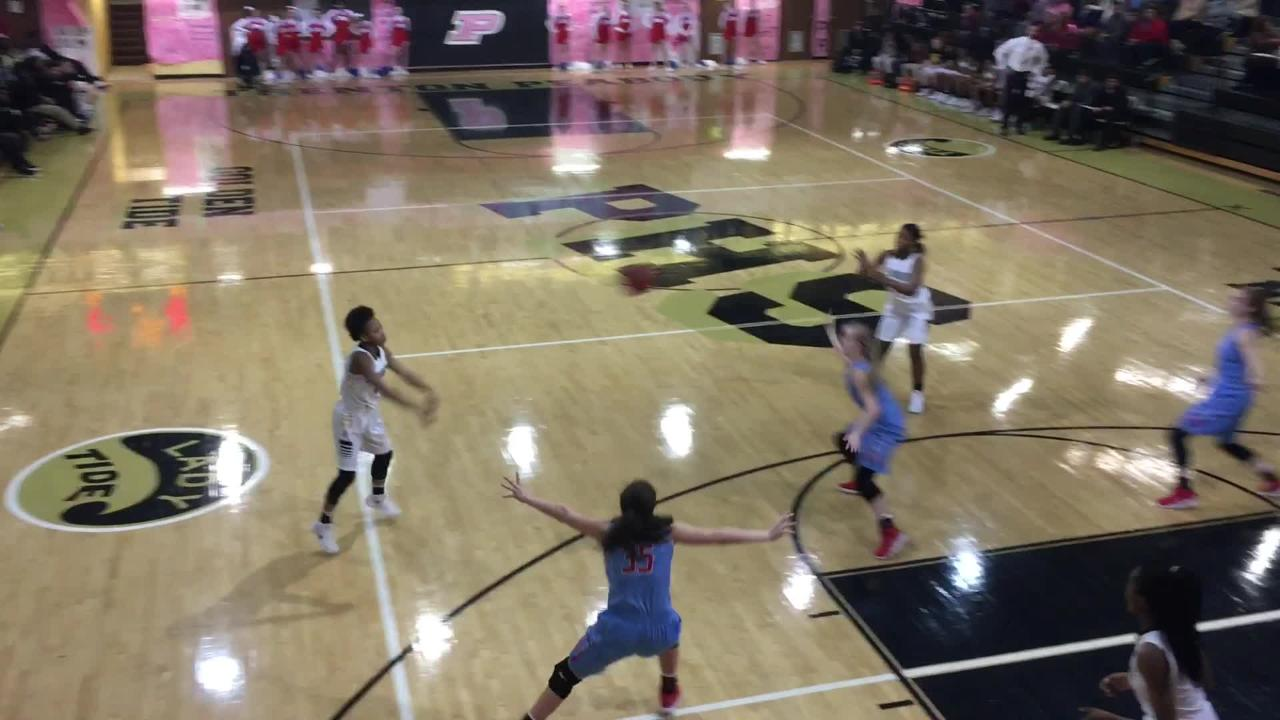 Gibson County girls overtook the No. 1 spot in District 14-A with a 68-63 victory over Peabody on Jan. 29.