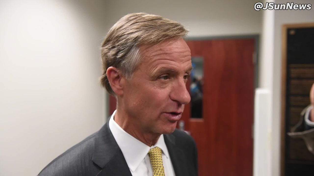 Governor Bill Haslam was a guest at the Southwest Tennessee Reconnect Community Launch Event, Thursday, Feb. 1 at The Jackson Chamber.