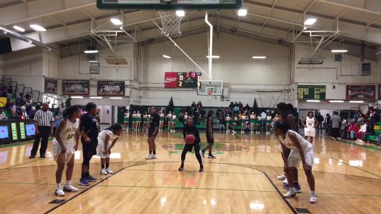 Highlights from Bolivar Central girls basketball win over Haywood High School on Feb. 1, 2018.