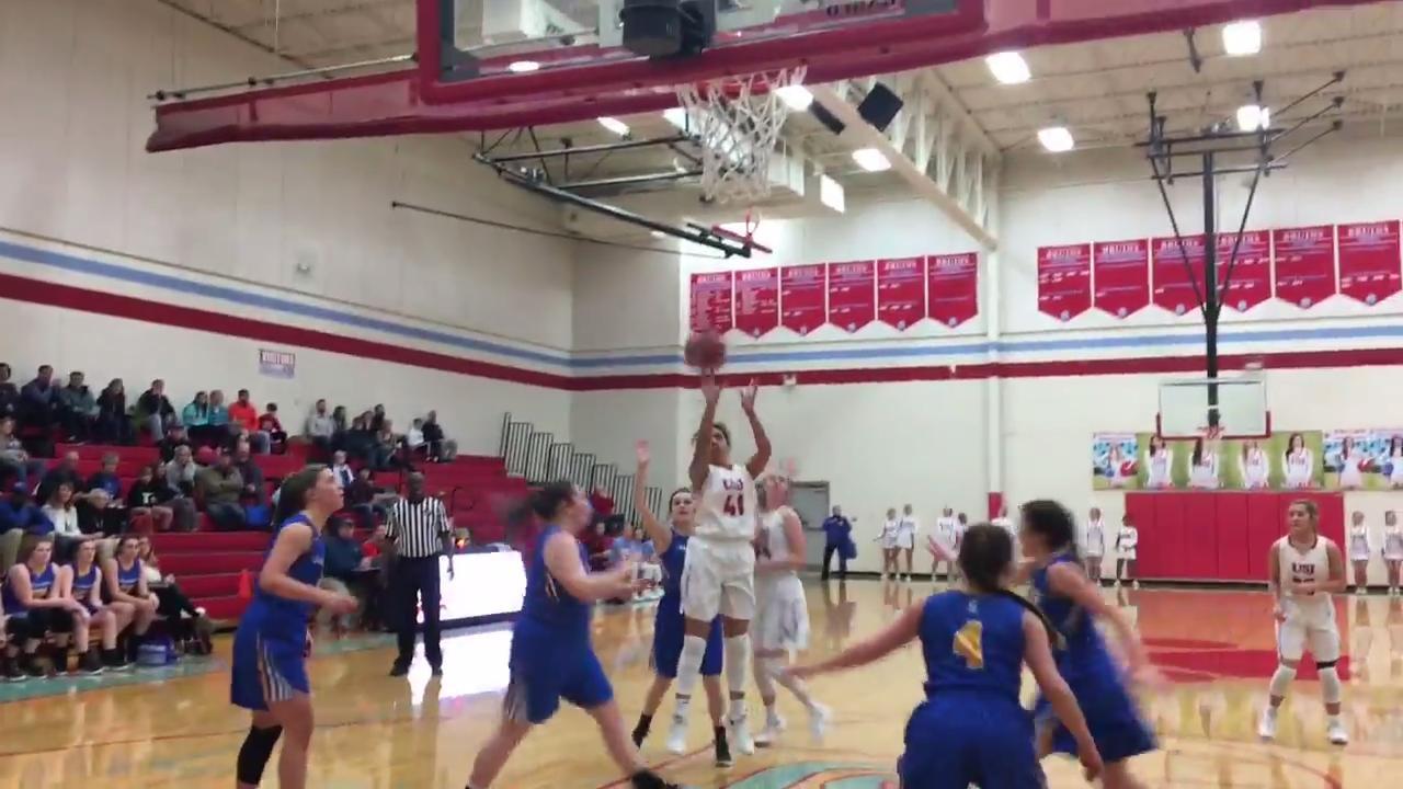 Highlights from the University of Jackson girls basketball team's win over Jackson Christian on Feb. 2, 2018.