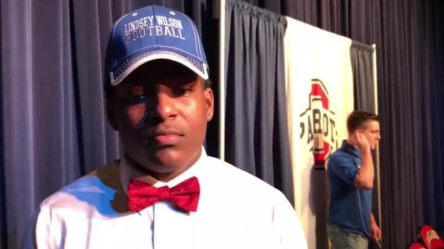 Oakland football standouts discuss national signing day